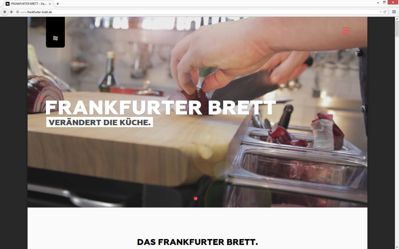 Frankfurter Brett GmbH: Start / Video
