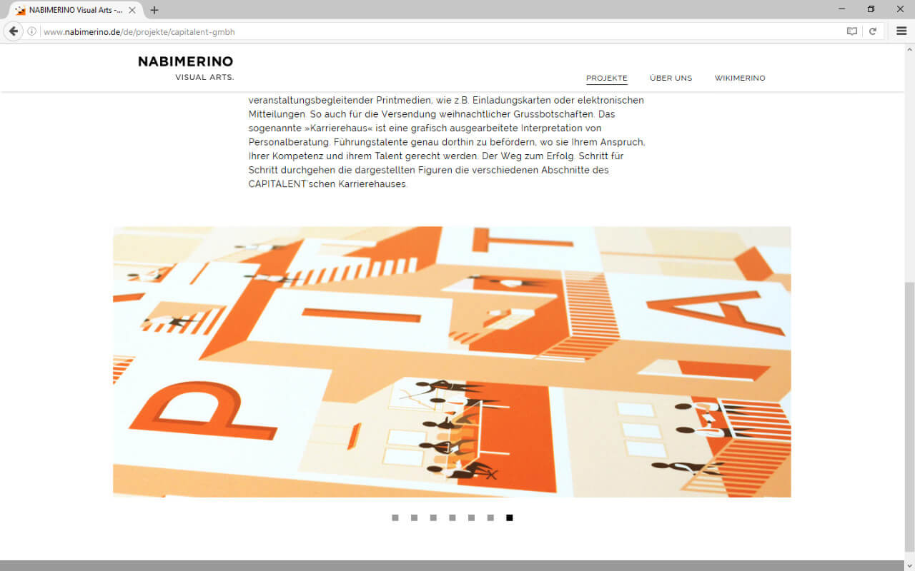 NABIMERINO Visual Arts.: Projekt - Capitalent - Slideshow