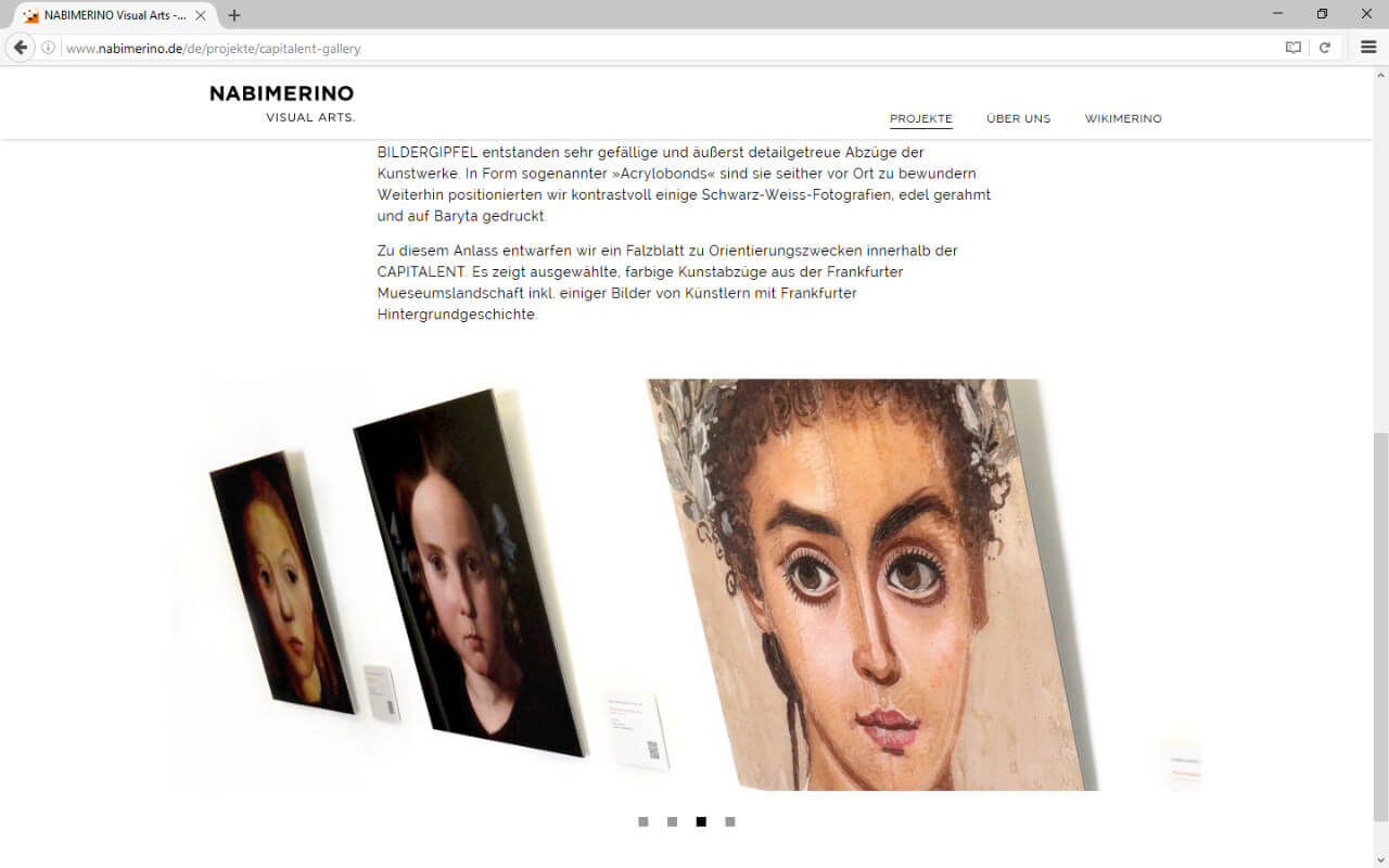 NABIMERINO Visual Arts.: Projekt - Capitalent - Slideshow 2