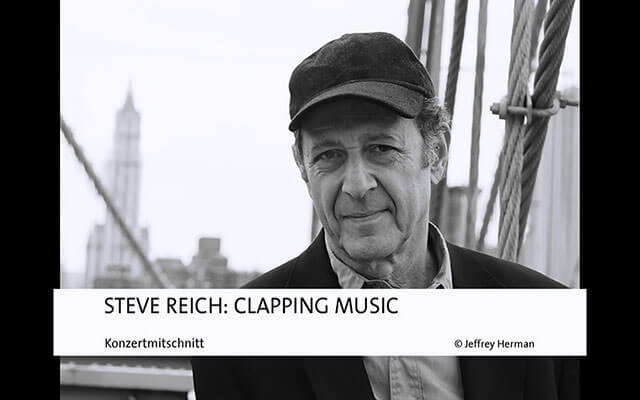 Screenshot Audiomaterial Steve Reich