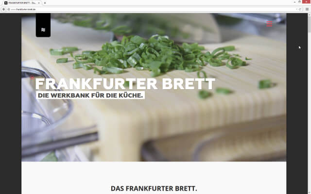 GEBRUEDER // Frankfurter Brett: Video
